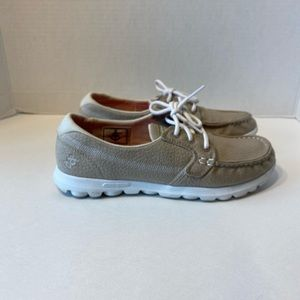 Skechers On The Go Youth Boat Shoes! EUC! 6.5!